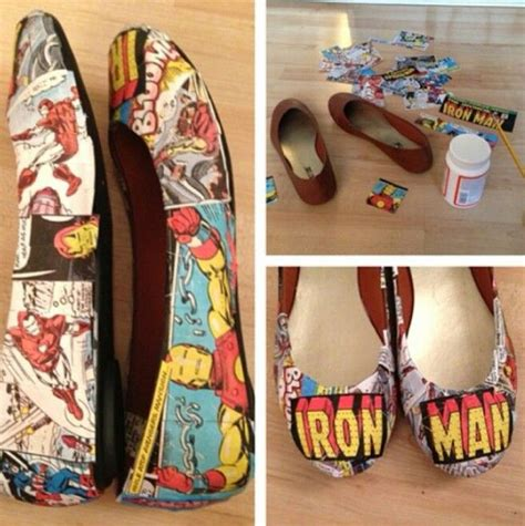 diy comic shoes diy comic book shoes using modge podge wedding