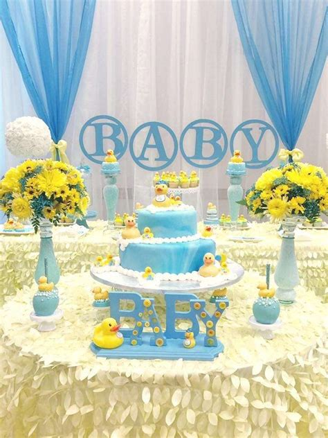 duck themed baby shower decorations rubber ducky baby shower baby shower ideas themes