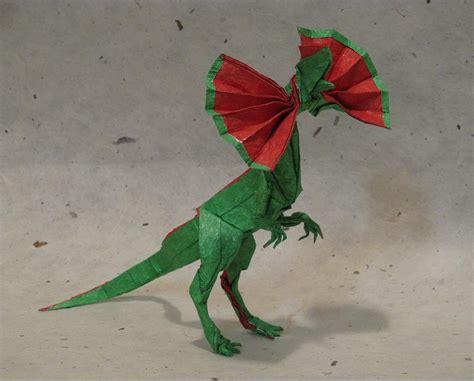 Origami Dinosaurs - 11 ferocious origami dinosaurs origamiuniversity