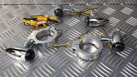 Kupingan Set Bracket Tiger Chrome triumph custom parts