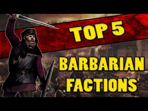 rome 2 total war barbarian top 5 best barbarian factions in total war rome 2 youtube