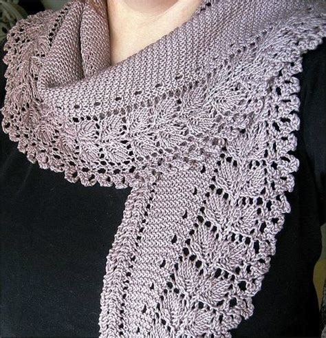knitting pattern spring scarf crafts for spring lace scarf free knitting patterns