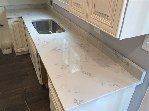 carrara grigio quartz countertop marble look quartz