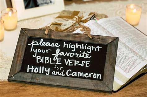 Bible Verses For Your Wedding Ceremony by 10 Christian Wedding Ideas Florida Wedding Ideas