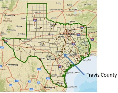 travis county texas map exercise 1 introduction to arcview