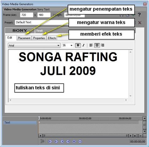 cara membuat intro video sony vegas tutorial membuat intro video klip di sony vegas oleh