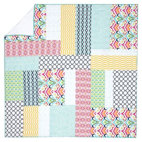 Pbteen Quilts by Palm Springs Patchwork Quilt Sham Pbteen