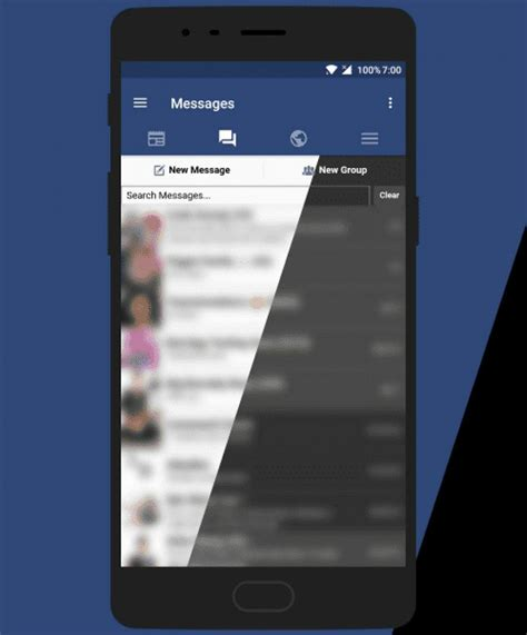 facebook themes xda frost for facebook is an open source fully themeable