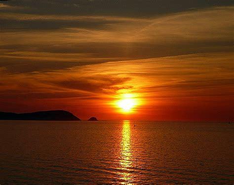 coucher de soleil sur la m 233 diterran 233 e espagnole l estartit