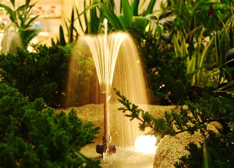 Air Mancur Kolam tarian air mancur di kolam taman bebeja