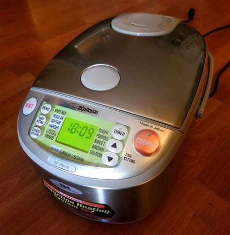 induction heating rice cooker review review zojirushi induction heat rice cooker tasty island