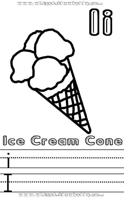preschool ice cream coloring pages 11 best images of letter v worksheets preschool coloring