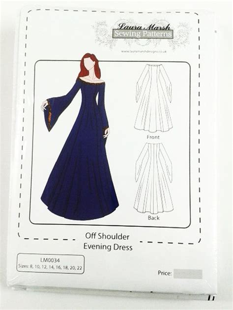 pinterest gown pattern off should evening medieval dress sewing pattern sizes 8
