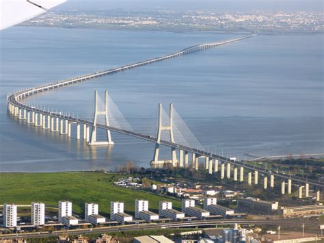 ponte vasco da gama panoramio photo of lisboa vista a 233 rea da ponte vasco