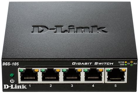 Switch Hub D Link 5 Port d link dgs105 5 port portable ethernet hub switch pssl