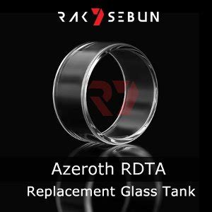 Q152 Replacement Glass For Coilart Azeroth Rdta Vapor Tokotoped jual beli coilart azeroth rdta glass replacement tank