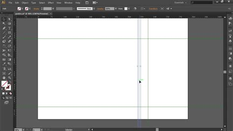 new guide layout cs6 how to delete guides in adobe illustrator cs6 youtube