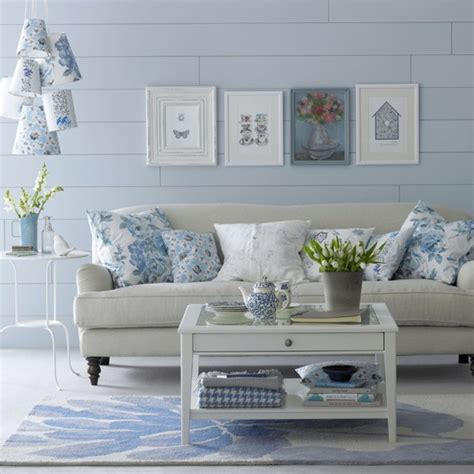 Blue And White Living Room Decorating Ideas Dulux Come Up With The Mix Of Blue And White To Brighten Up Your Lounge Colors