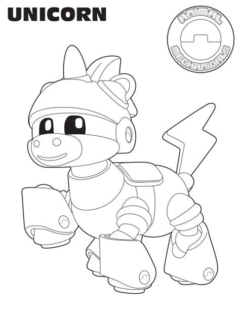 Animal Mechanicals Coloring Pages animal mechanicals coloring pages az coloring pages