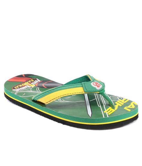 power rangers slippers power rangers green slippers for price in india buy
