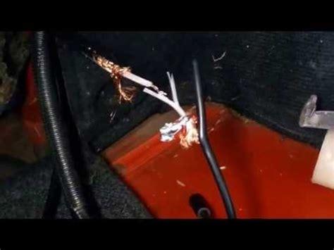 car antenna cable repair