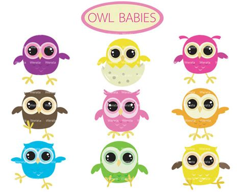 owl item twin baby clipart cliparts co
