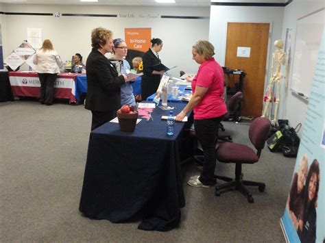 comfort keepers muskegon ross in roosevelt park hosts muskegon area career fair