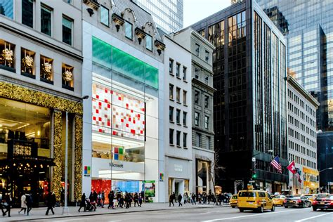 flagship microsoft store nyc unveiling 28 images