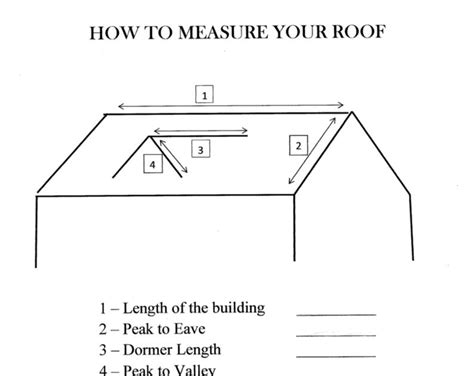how to measure your roof