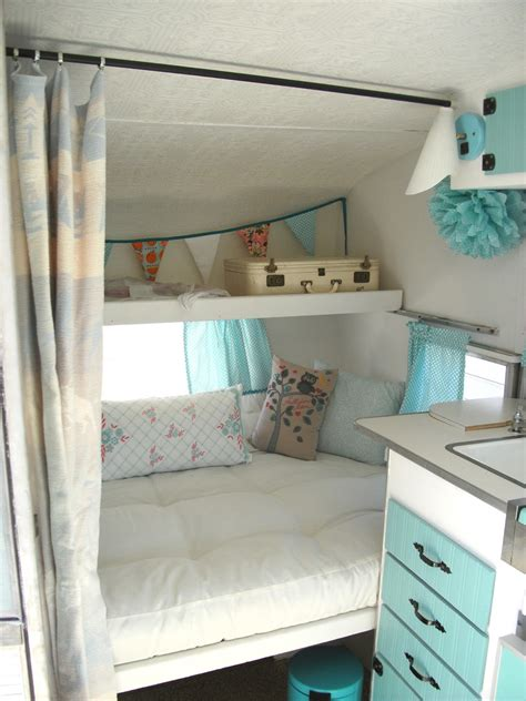 Couch Bunk Bed For Sale An Update On Maizy My Little Vintage Trailer Interior