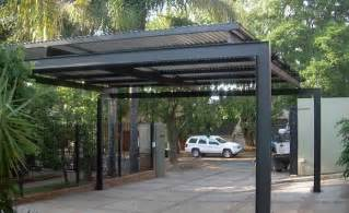 metal carport unashamedly modern quot industrial quot styling