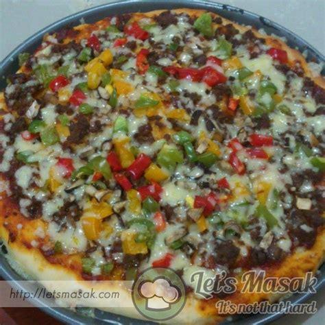 Doh Pizza basic doh pizza recipe letsmasak