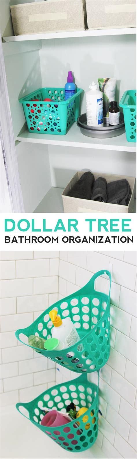 Dollar tree bathroom organization homemade ginger