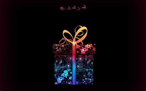 merry christmas gift  wallpaper freechristmaswallpapersnet
