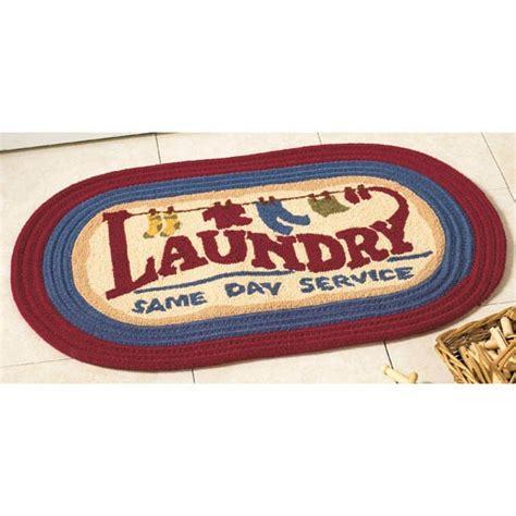 laundry room floor mat laundry room rug 31x20 oval floor mat country decor new 29 99 picclick