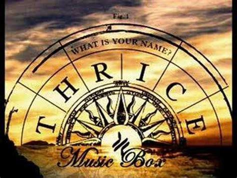 thrice wallpaper thrice music box youtube