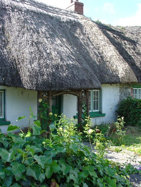 Adare Ireland Thatched Cottages by Thatched Cottage In Adare Ireland Chocolate Box