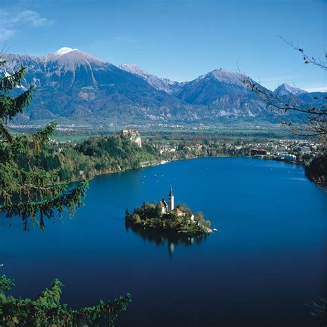 slovenia lake lake bled placerating