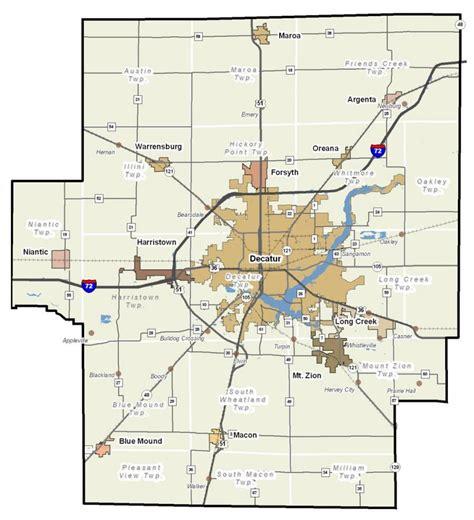 Macon County Search Il Quot Picture Decatur Quot Decatur Il Maps