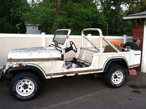 jeep scrambler 4 door sell used 1983 jeep scrambler 4x4 4 speed barn find