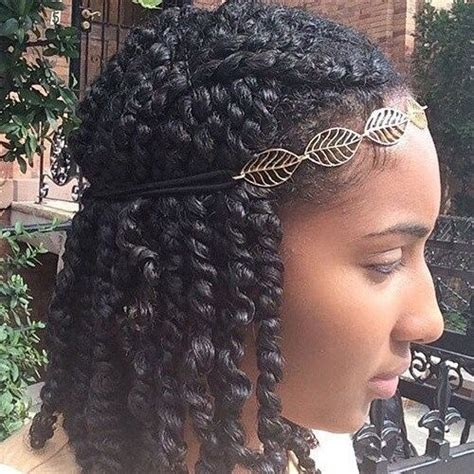 african american braids with bun with headbands 50 outgoing kinky twists ideas for african american women