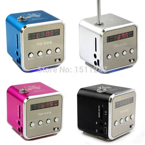 aliexpress buy mini digital portable radio fm