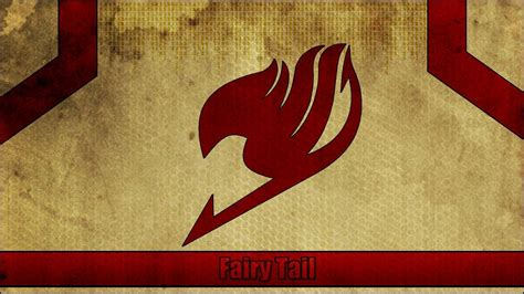 wallpaper keren fairy tail fairy tail logo wallpapers wallpaper cave