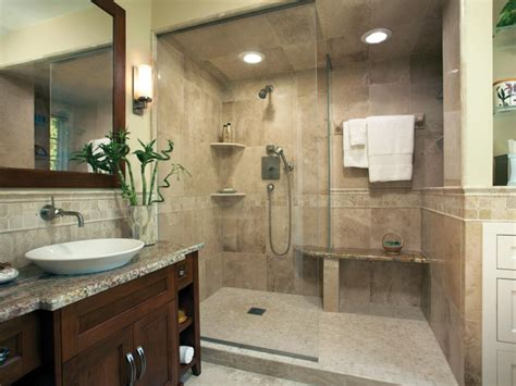 sophisticated bathroom designs hgtv handicapped accessible shower houzz