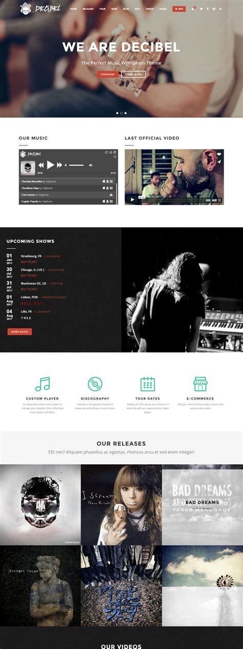 40 best responsive music wordpress themes 2015