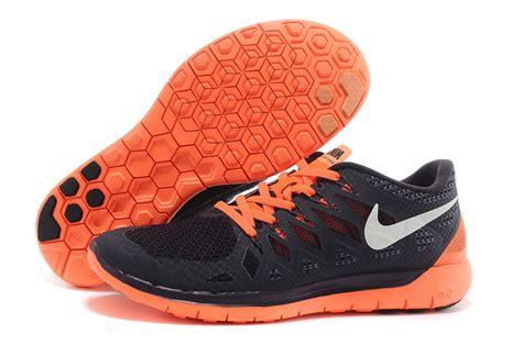 orange and black nike running shoes nike free 5 0 2014 mens nike free run sneakers