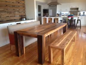 Reclaimed Wood Dining Room Tables by Wooden Dining Room Tables 17 Best 1000 Ideas About Large