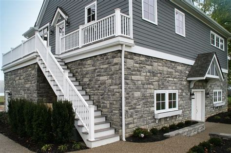 pennsylvania heritage with nantucket pewter siding house exterior pewter