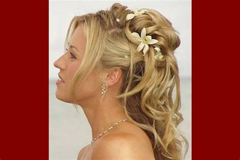 half up half down wedding hairstyles mother groom 19 simple yet beautiful wedding hairstyles easyday