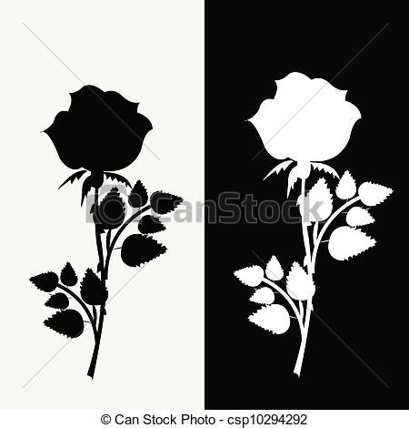 imagenes a negro y blanco eps vectores de blanco negro dos rosas dos rosas